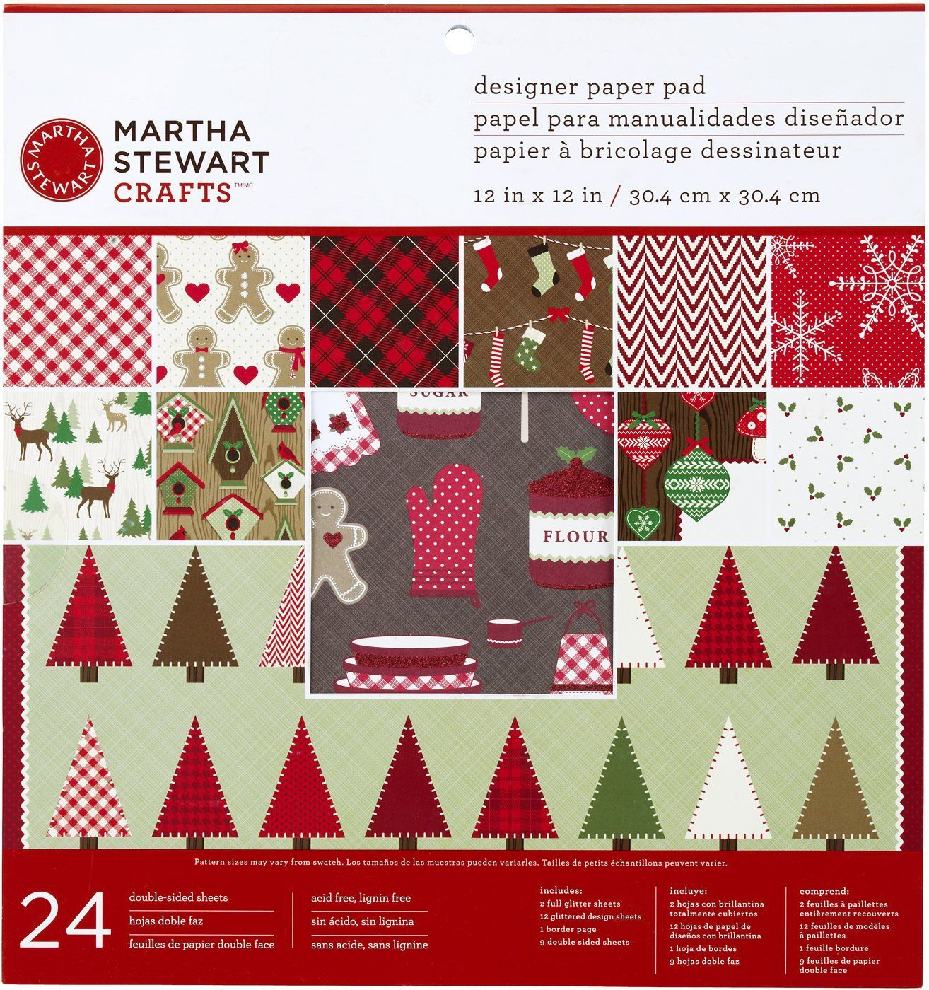 Martha stewart crafts cottage christmas for Martha stewart xmas crafts