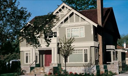 Exterior Paint Colors for Tudor Homes** http://www.valsparpaint.com ...