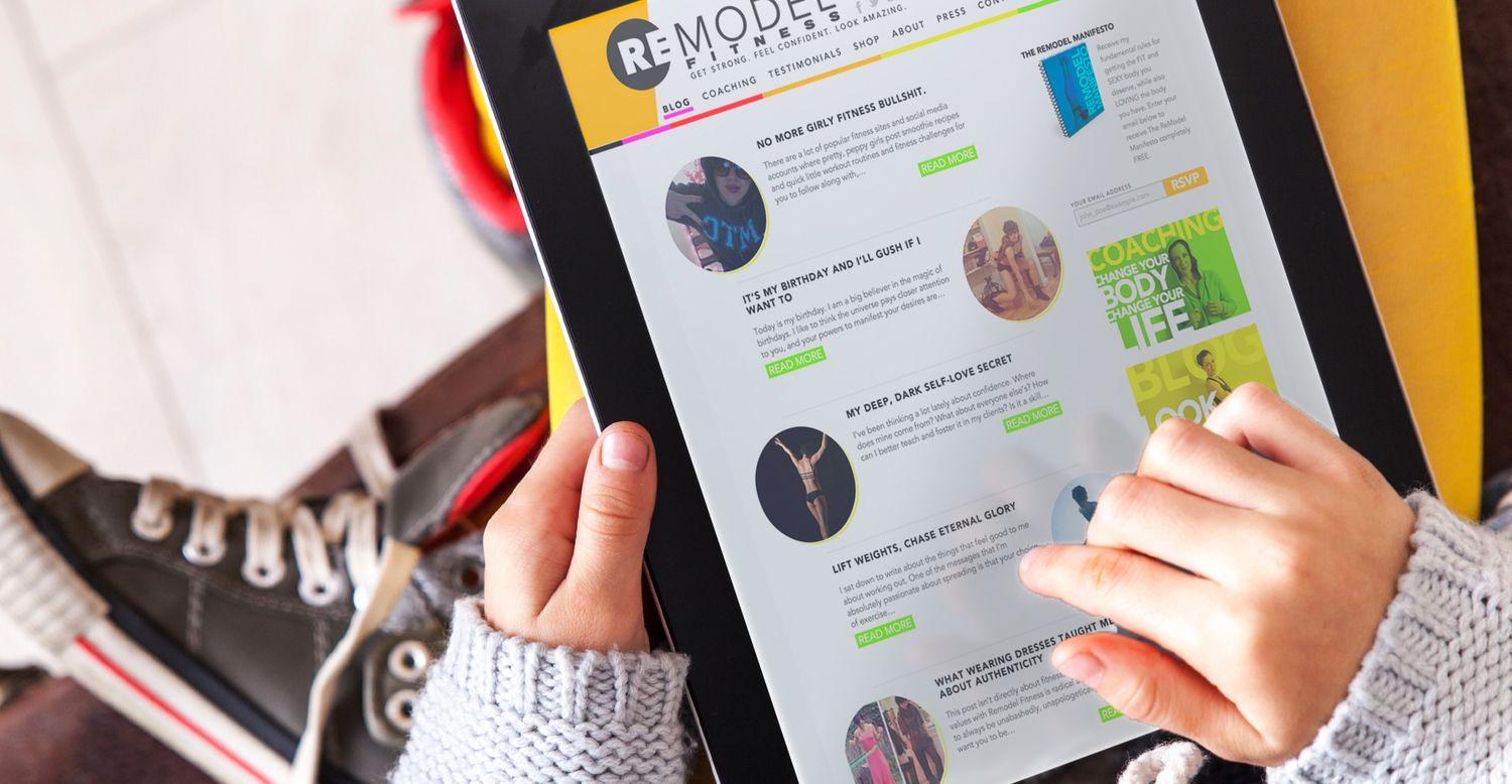 Looking for some new reading material? Check out these 60 blogs loaded with quality health, fitness, and happiness information.