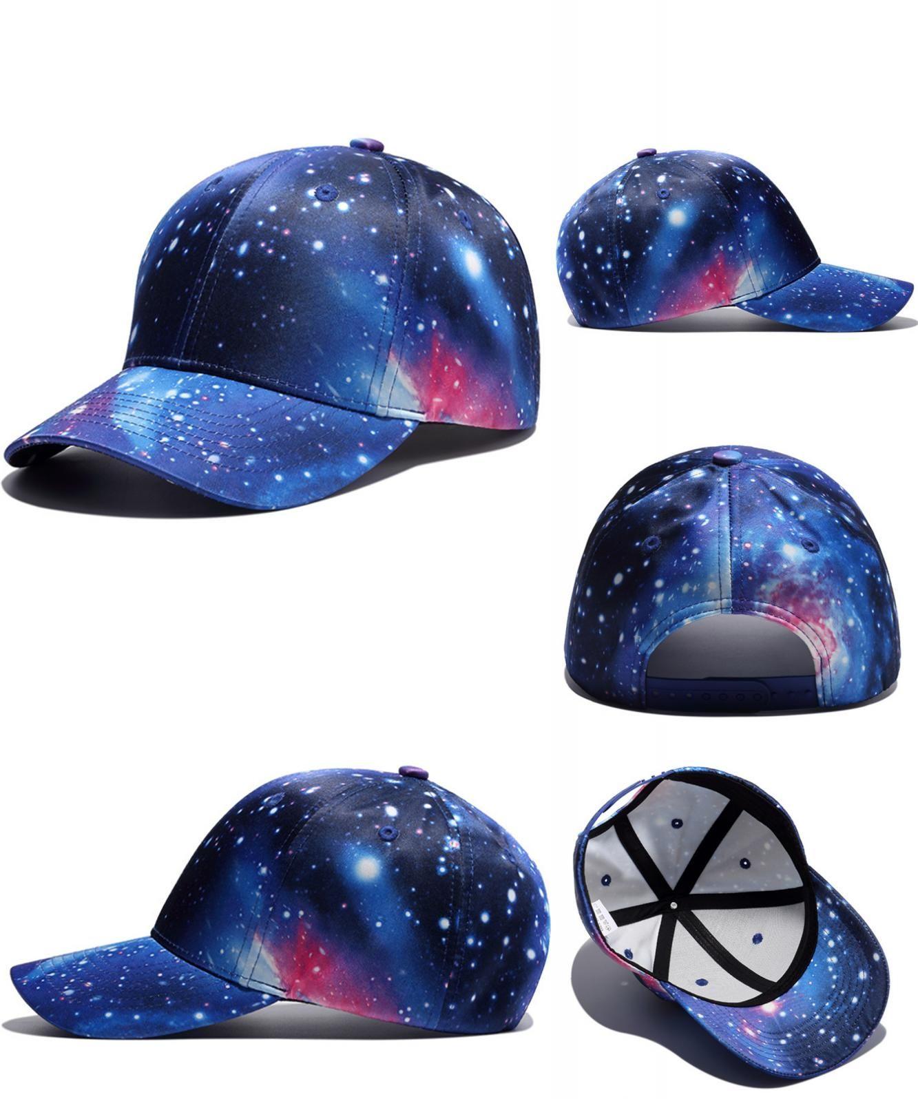 b0de551115e  Visit to Buy  New 3D Print Galaxy Unisex Baseball Cap Men Snapback Hats  Holiday