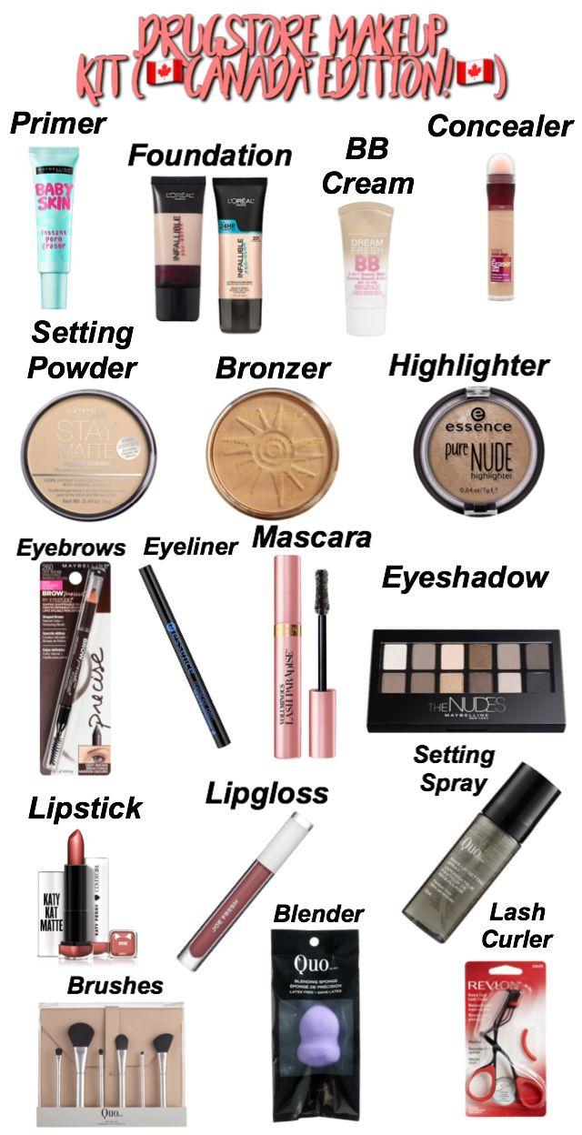 Pin by Alyssa LeAnn on Beauty Makeup kit, Beginner