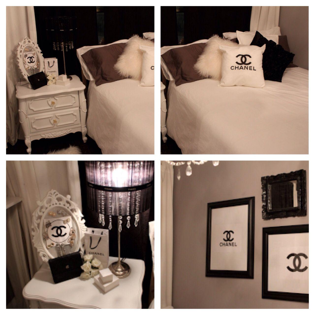 Chanel Inspiration Chanel Inspired Room Apartment Decor Home Decor Inspiration
