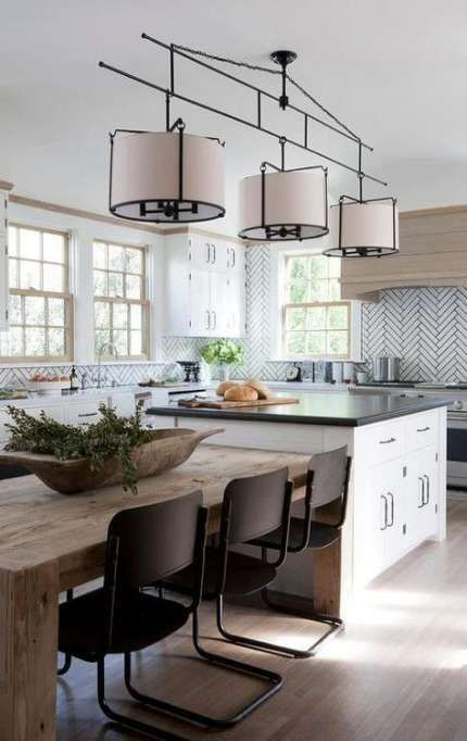 15 Ideas For Kitchen Island Dining Table Combo Woods Kitchen Island Dining Table Kitchen Dining Room Combo Kitchen Layout