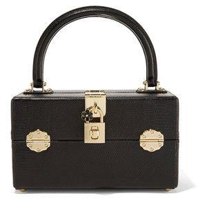 Dolce & Gabbana Lizard-effect leather vanity case
