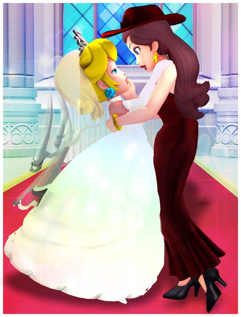 Peach X Pauline Odyssey Secret Ending By Fawfulthegreat64