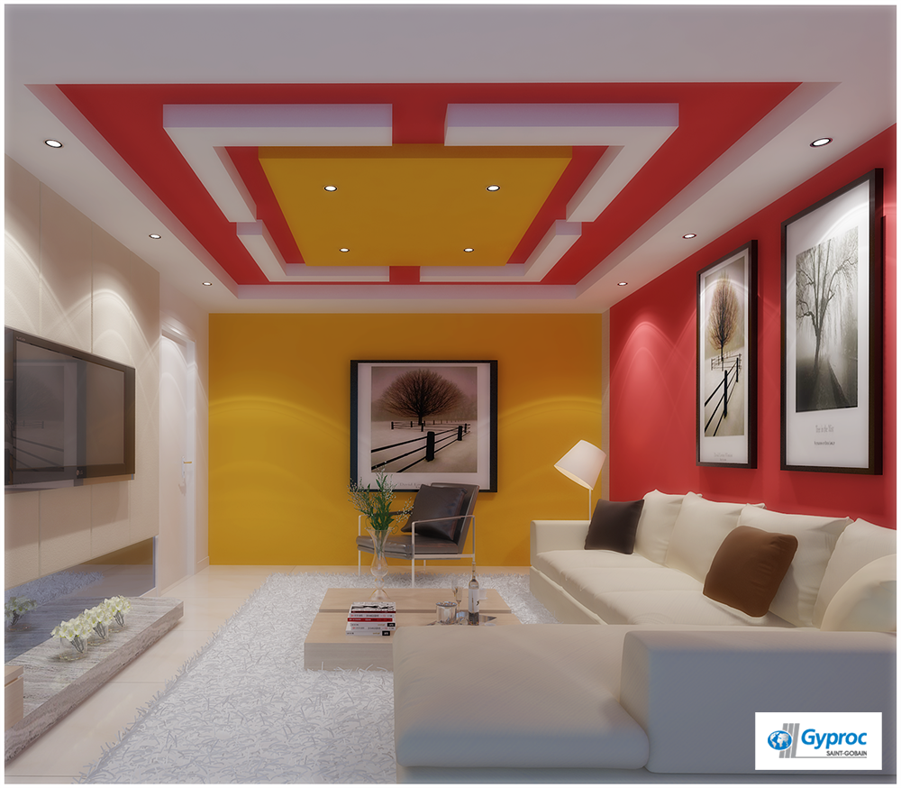 Ceilings that lay a perfect first impression to know more for Drywall designs living room