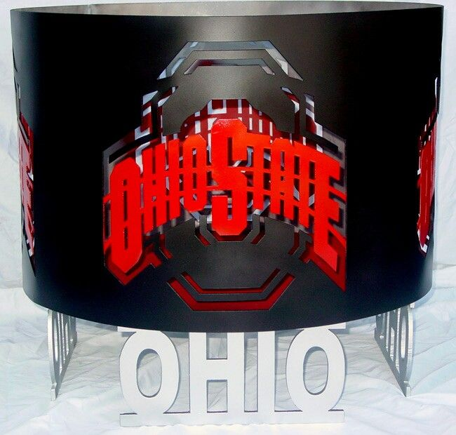 Ohio state fire pit - Ohio State Fire Pit Backyard/Patio/Hottub Pinterest Ohio State