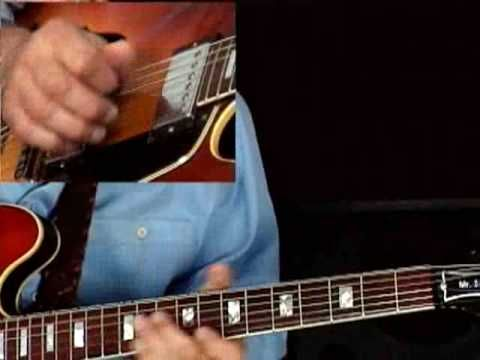 Blues Guitar Lesson - Larry Carlton - 335 Blues - More Motifs