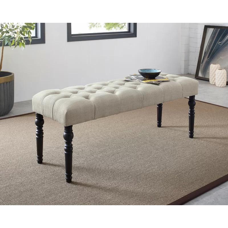 Evelin Upholstered Bench In 2020 Upholstered Storage Bench Mismatched Living Room Furniture Upholstered Bench #upholstered #benches #for #living #room