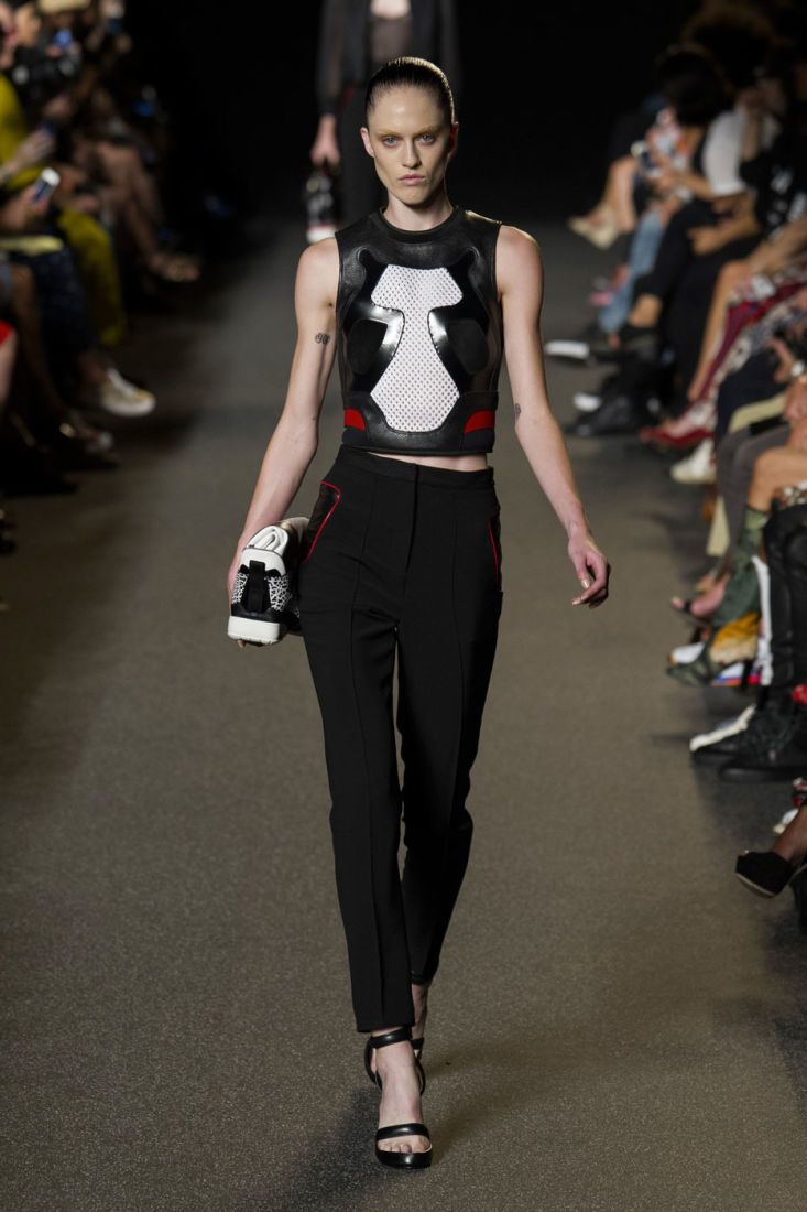 ALEXANDER WANG SAYS SPORT IS HERE TO STAY Alexander Wang spring 2015.
