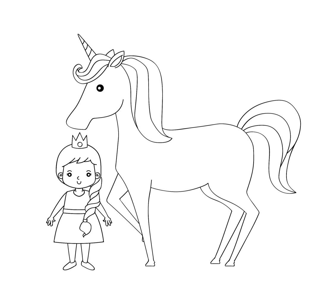 The Cutest Free Unicorn Coloring Pages Online With Images