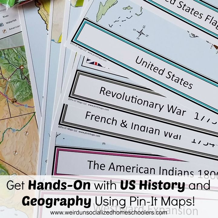 Get HandsOn With US History And Geography Using PinIt Maps - Us history curriculum map michigan