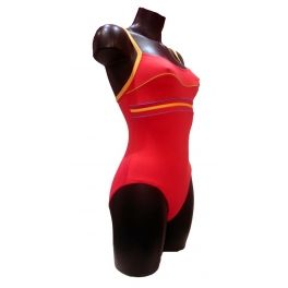 #maillotdebain #oceanwear #mydressing une coupe parfaite pour nager ou bronzé un coloris corail gourmand, simplicité de la ligne mais effet garanti pour ce maillot 1 pièce