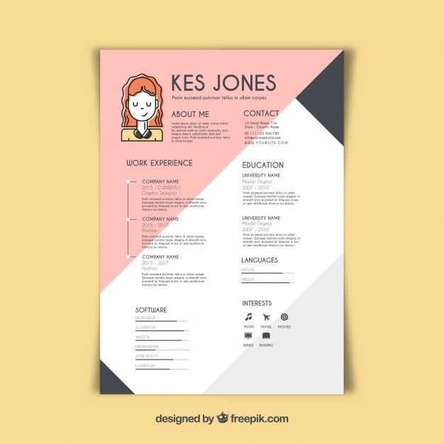 Free Resume Templates Graphic Artist Freeresumetemplates Creative