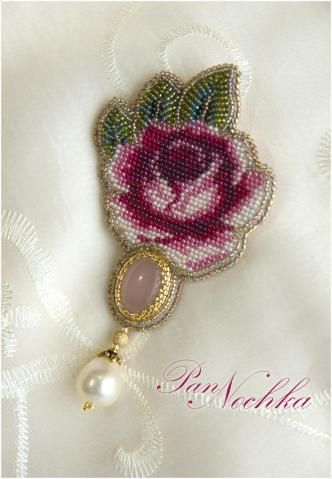 Beautiful floral design stick-pin