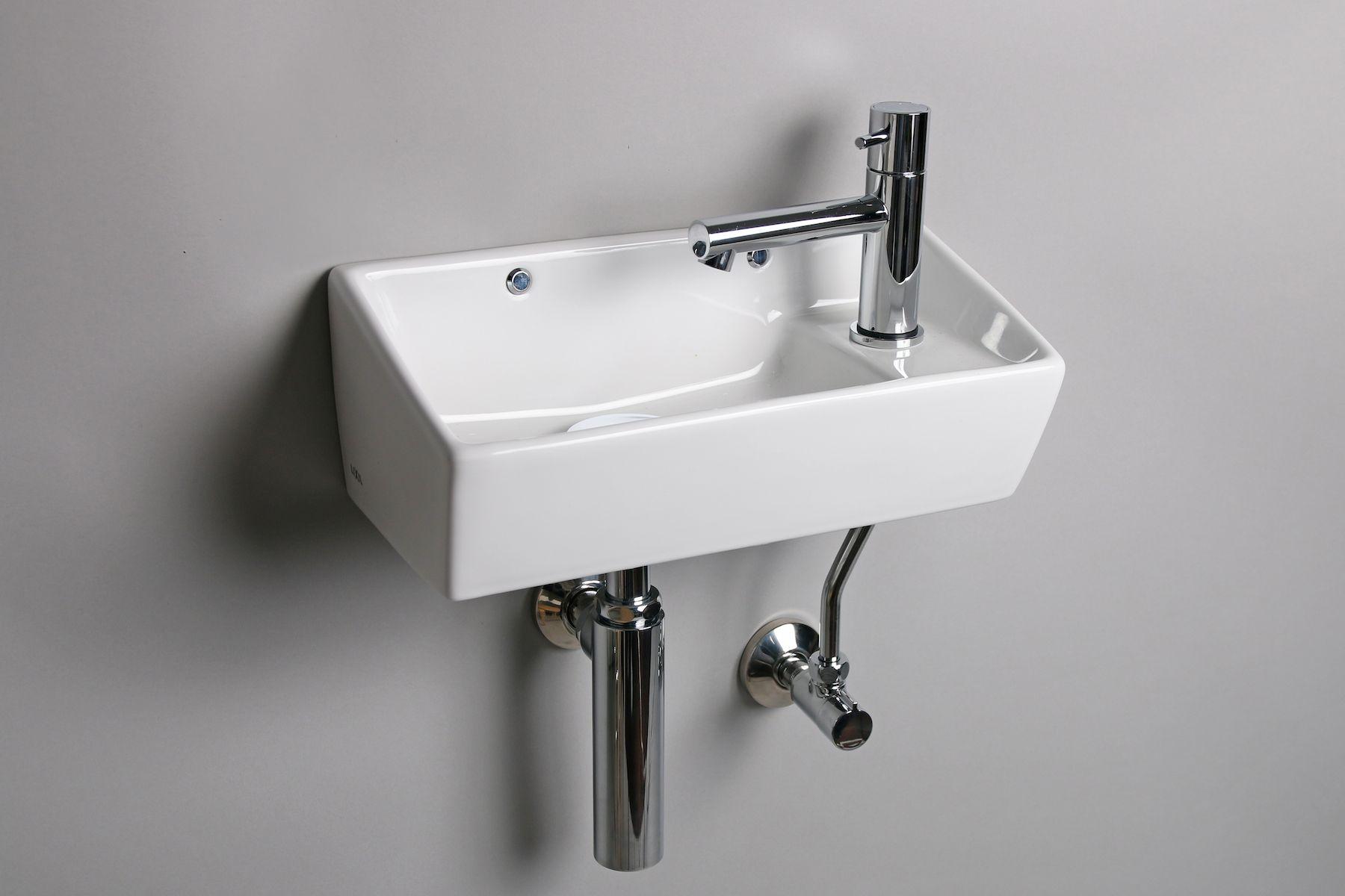 コンパクト手洗い器は 広さが確保しにくいトイレにうれしいコンパクト
