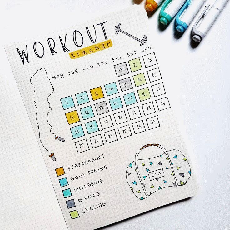 #workouttracker #bulletjournal #anjahome #workout #fitness #tracker #track #goals #these #keep #your...