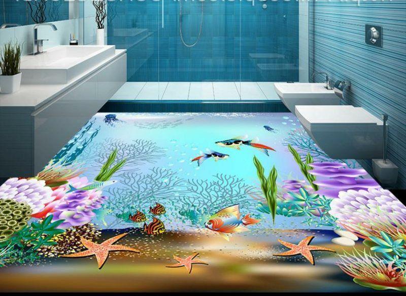 3d Fliesen Ideen Fur Das Badezimmer 3d Fliesen Badezimmerboden Outdoor Dekorationen