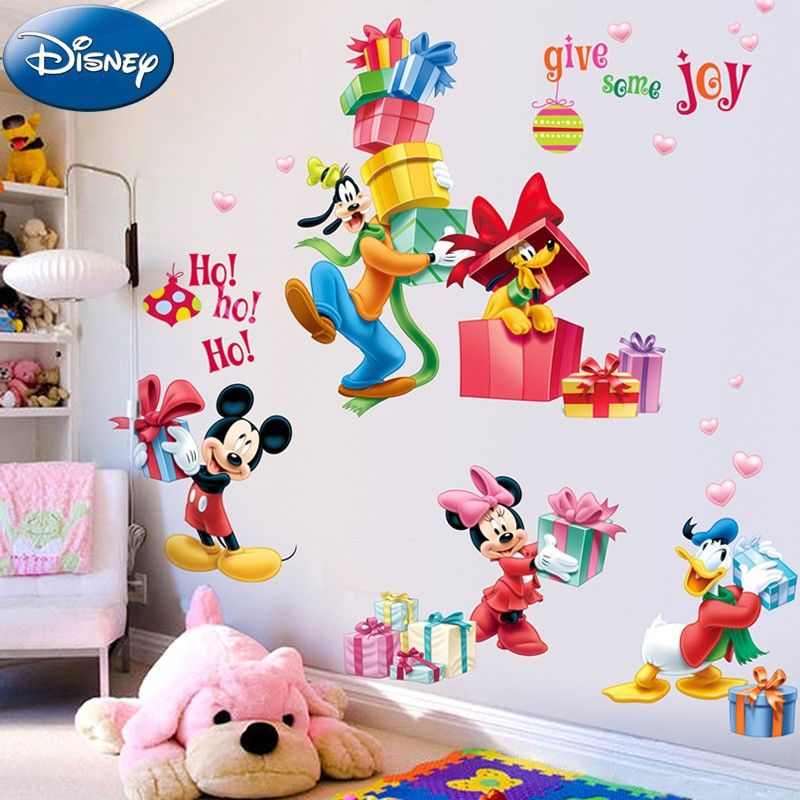 Disney Mickey Mouse Wall Decals Kids Rooms | Nursery Wall Decals ...