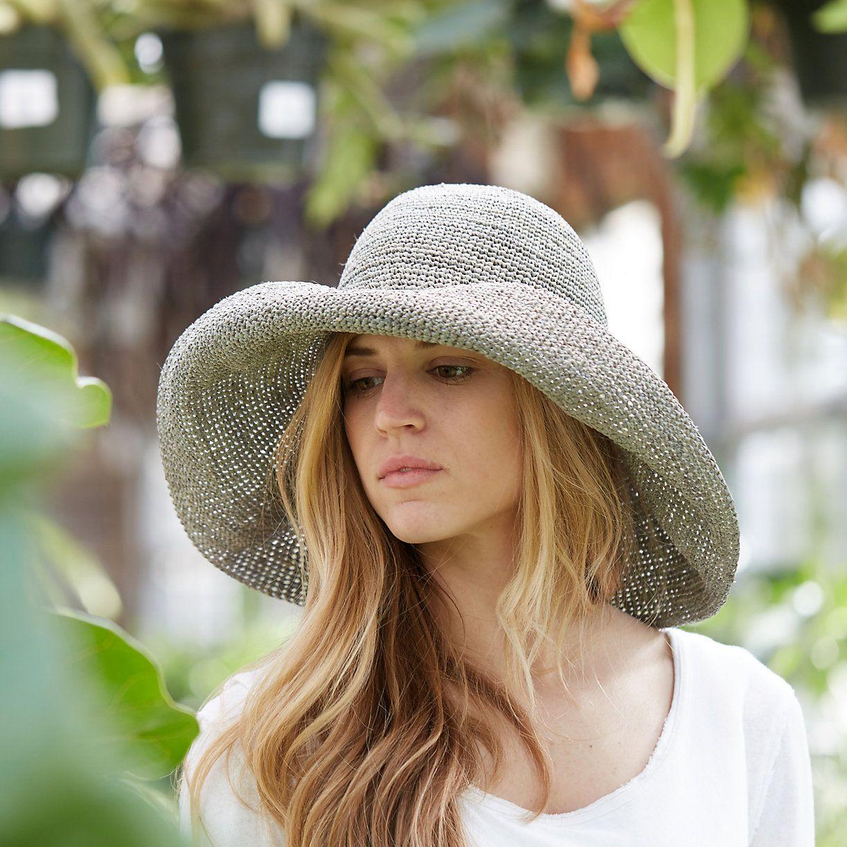 Wide Brim Raffia Hat | Fashion | Pinterest | Raffia hat, Summer chic ...