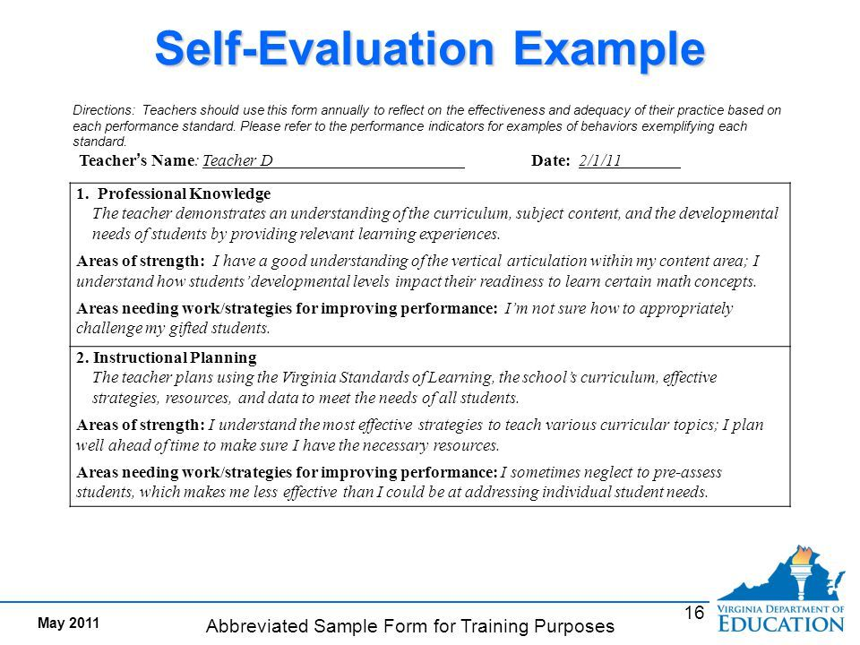 teachers self evaluation sample Image result for self evaluation form for teachers | education ...