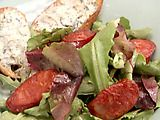 Picture of Bolo Salad with Chorizo, Cabrales Blue Cheese, and Tomatoes Recipe