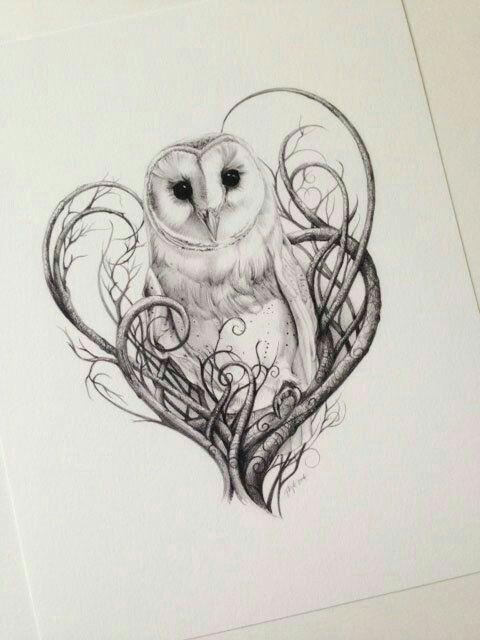 Pin By Larena Lei On Body Art Barn Owl Tattoo Owl Tattoo Design Owl Tattoo
