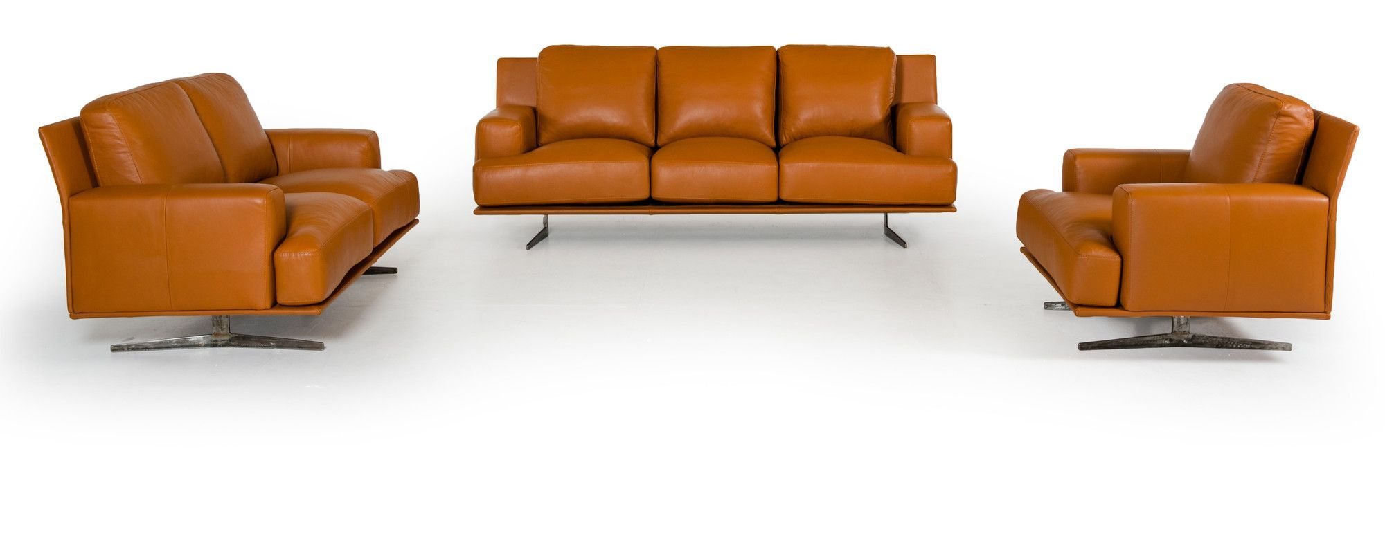 Estro foster piece leather sofa set products pinterest sofa