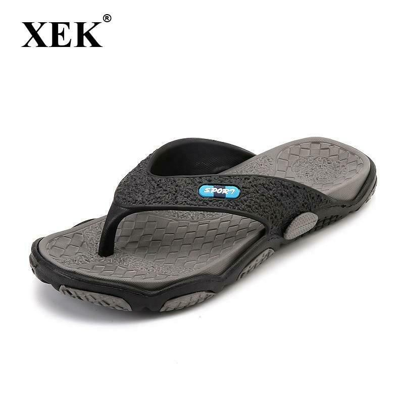630d32a9ffa8 XEK 2018 Men s Slippers Summer Non-slip Massage Slippers Fashion Man Casual  High  fashion  clothing  shoes  accessories  mensshoes  sandals (ebay link)