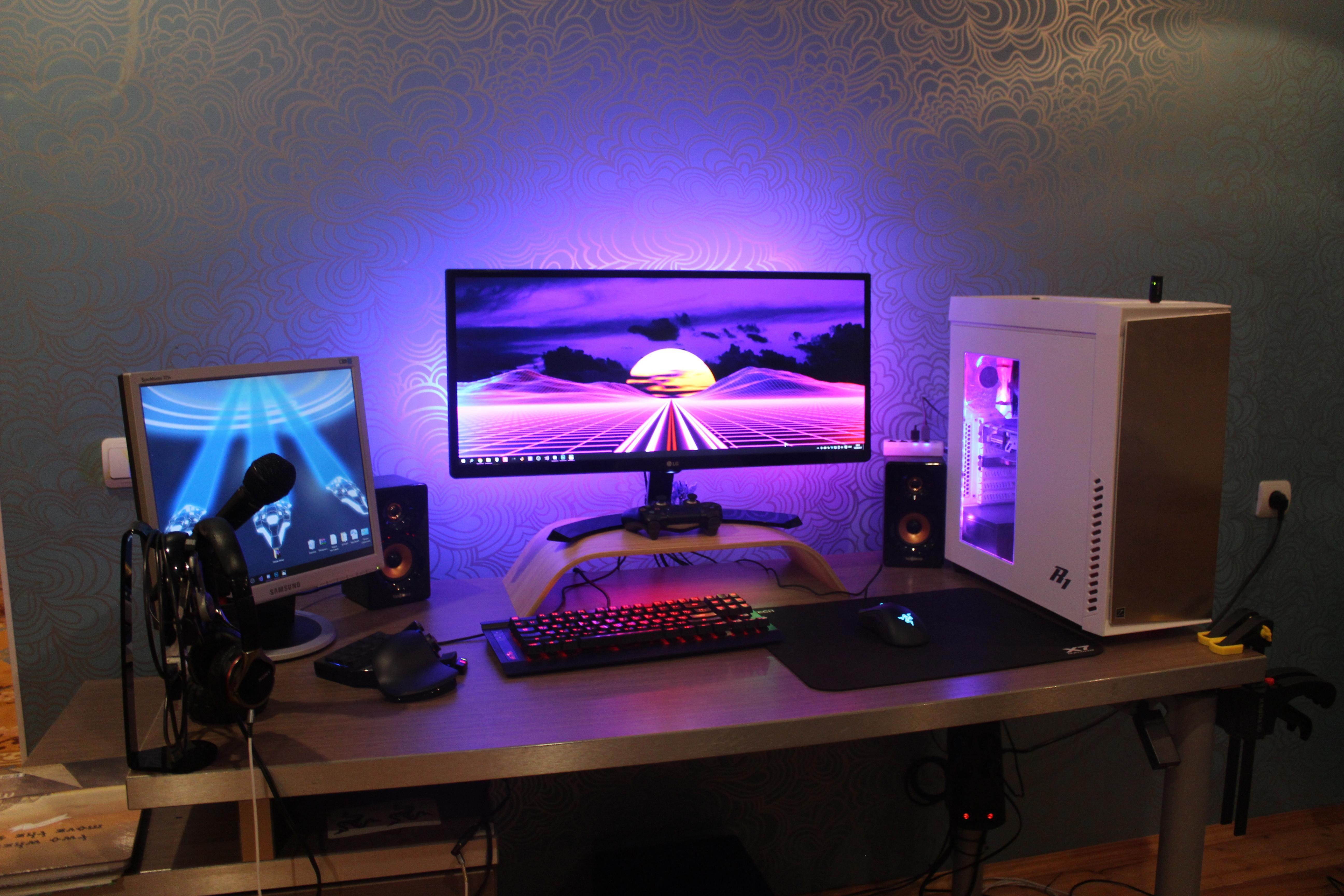 My Little Uw Battledstantion Battlestation Computer Setup Pc