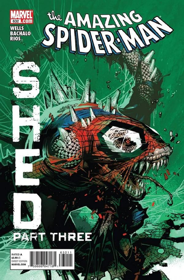 Amazing Spider Man 632 By Chris Bachalo Tim Townsend Spiderman Comic Amazing Spider Comic Book Superheroes