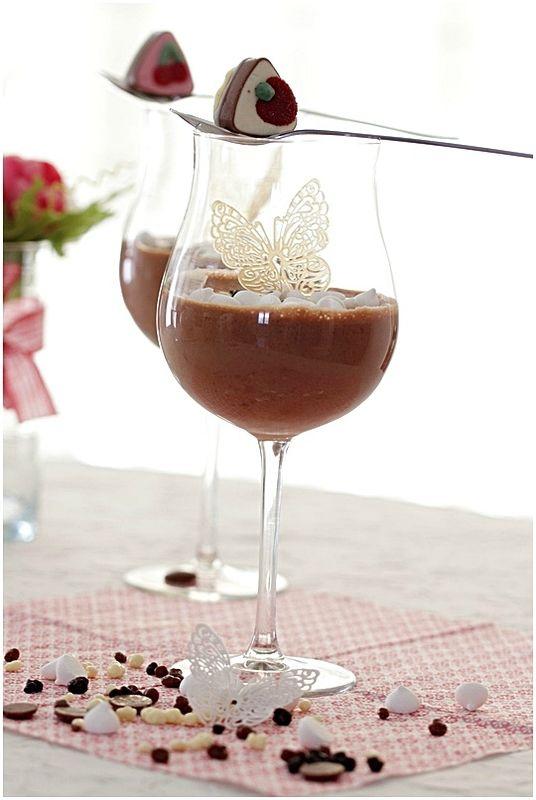 Mousse au chocolat de Monsieur Alain Ducasse.....et bonne fête des mères!