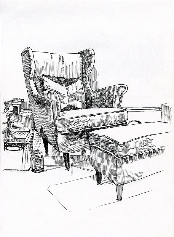 Living Room Chair Interior Architecture Drawing Interior Design Sketches Interior Design Drawings