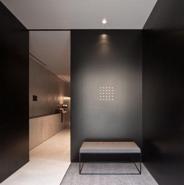 Elegant interior by architect Francesc Rife _   Hallway ...