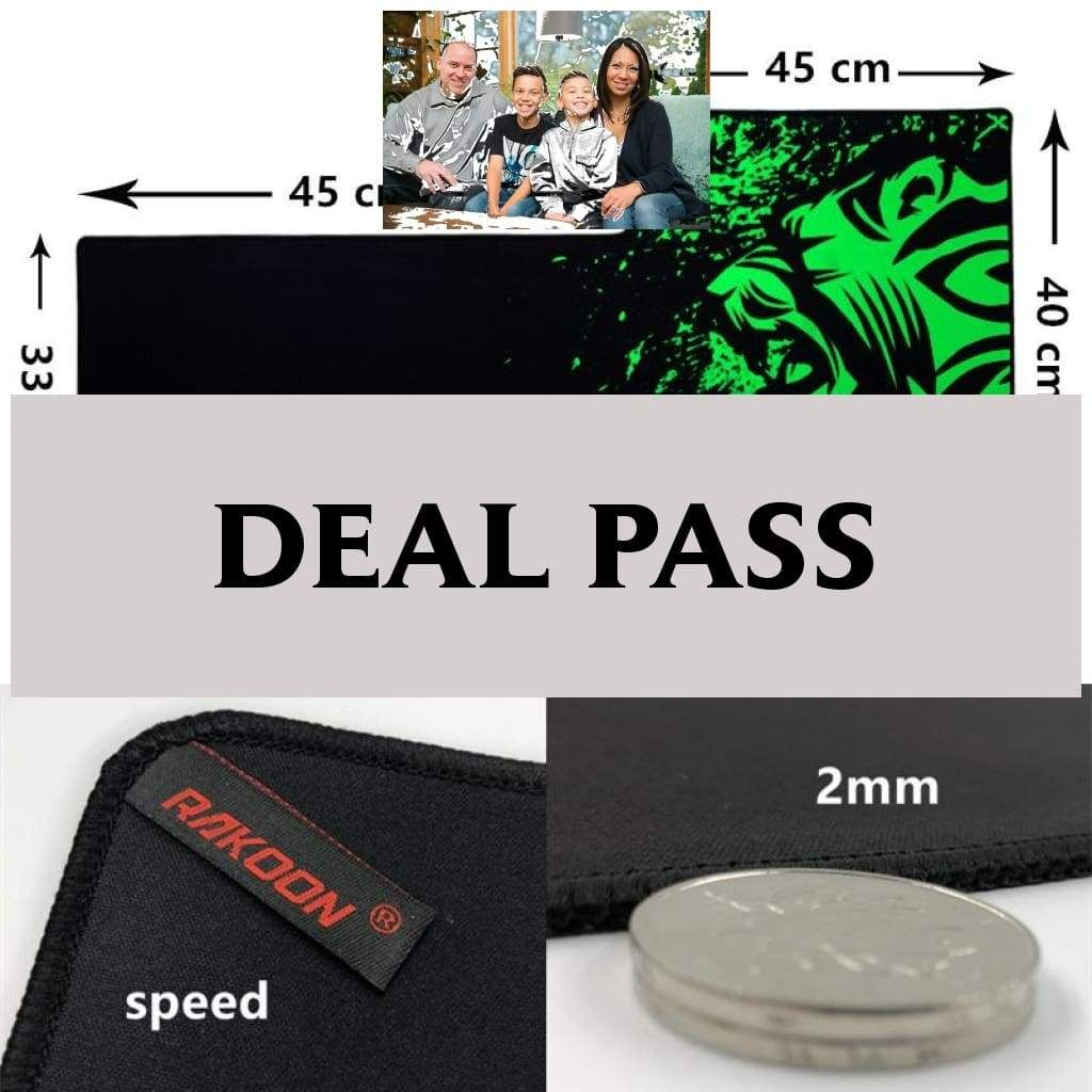 Hot sales speed version large gaming mouse pad lockedge mouse mat