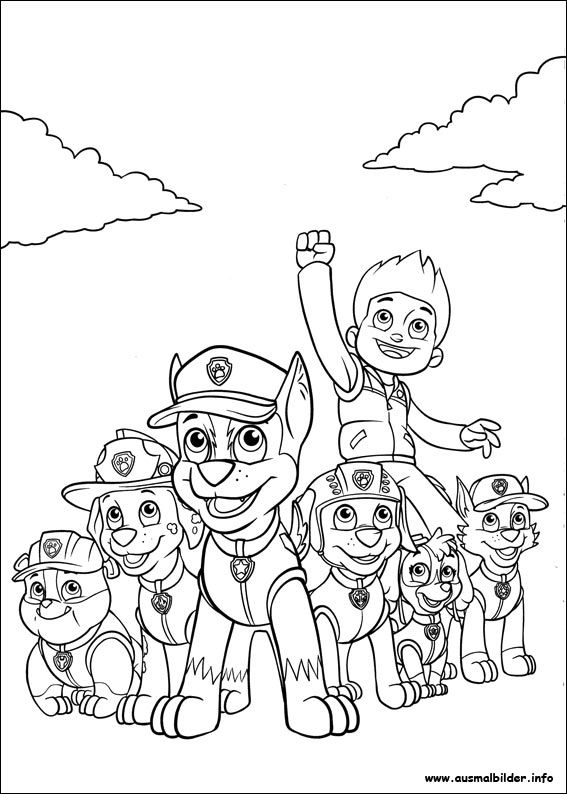 Paw Patrol Malvorlagen Preschool Activities Pinterest Paw