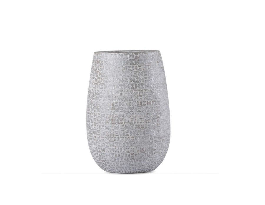 Maud Ceramic Vase 14 Grey Umbrella Vase Apartment Makeover