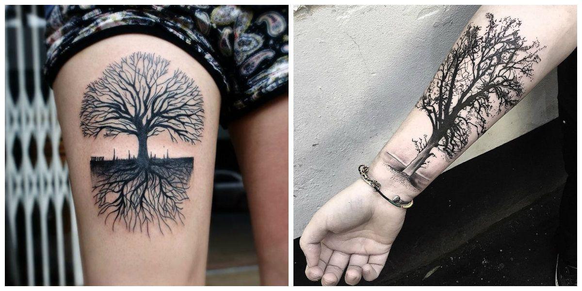 Tatuajes De Arboles Uno De Los Mejores Tendencias Para Hombres Y