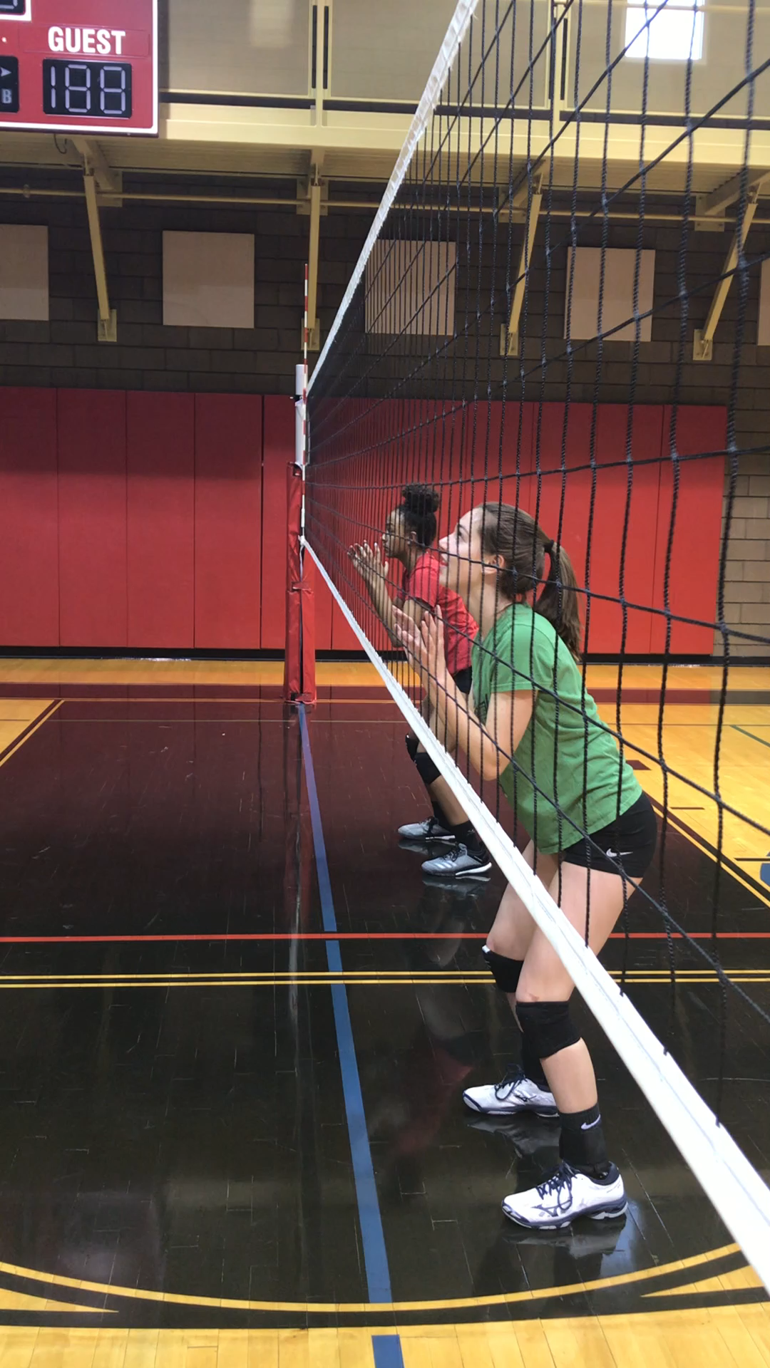 Best Volleyball Matches Volleyball Blocking Drills Blocking Footwork And Penetrating The Net In 2020 Volleyball Inspiration Volleyball Workouts Volleyball Training