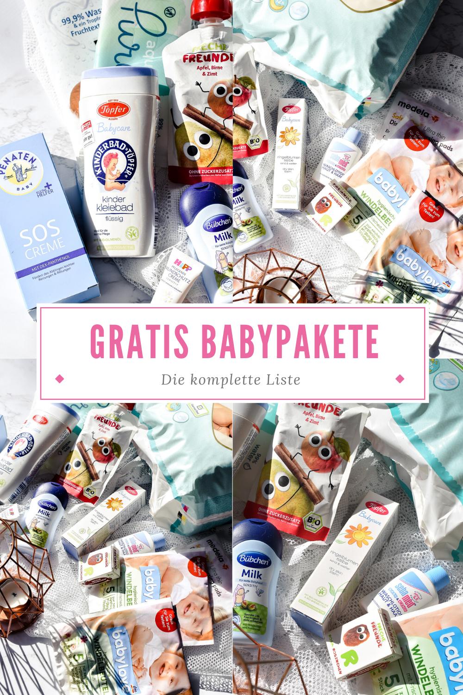 Gratis Babypakete - So sparst du während der Schwangerschaft