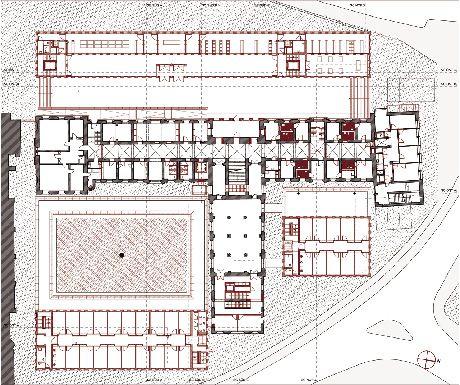 Max Dudler | Diözesanbibliothek und Verwaltungsbauten Bischöfliches Generalvikariat | Diocesan Library Plant