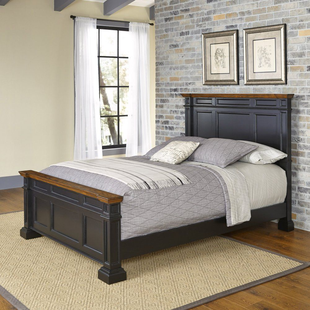 americana queen bed - homestyles furniture 5003-500 in