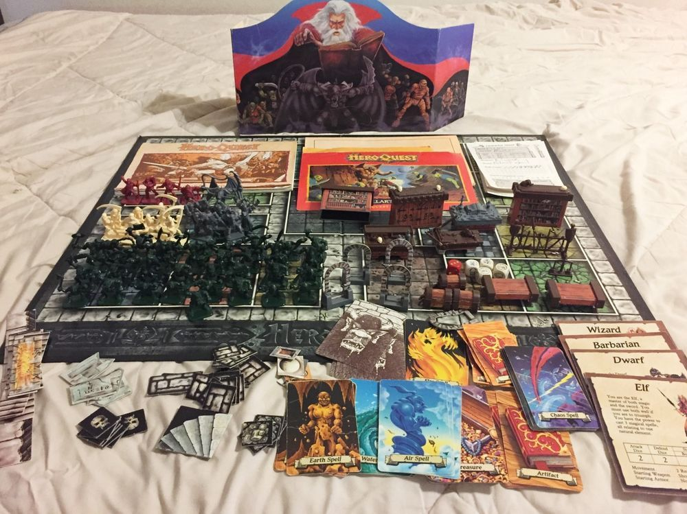 By Milton Bradley. Hero Quest Game System. 2 Quest Books