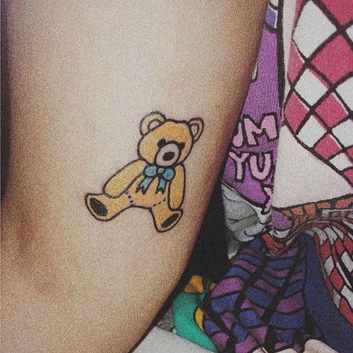 Melanie Martinez Tattoo Bear Teddy Bear Tattoos Bear Tattoos Tattoos