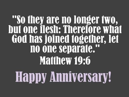 Bible Verse For An Anniversary Card