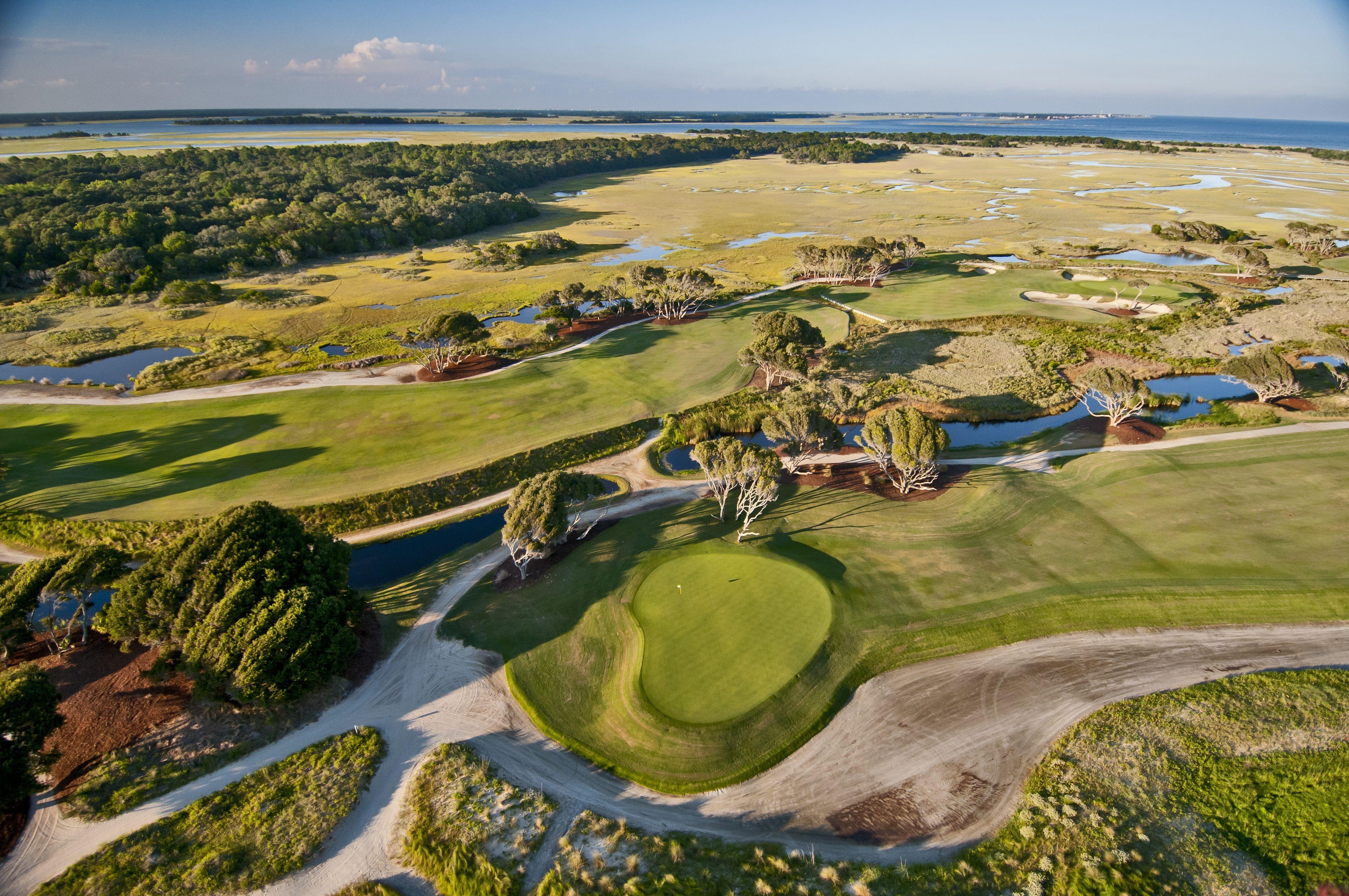 The Ocean Course, host of the 2021 PGA Championship, scene ...