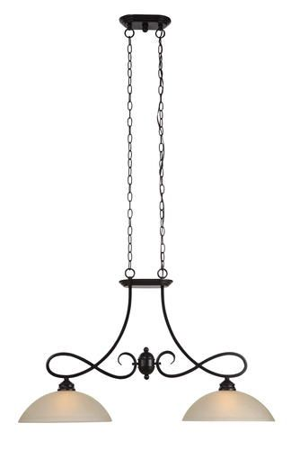 Aven 2 light 35 5 w oil rubbed bronze island light at menards