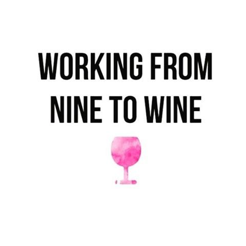 """Girls' Night Out Wines (@girlsnightoutwines) on Instagram: """"Happy #WineWednesday! Who else is working the same today?"""