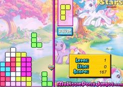 Juegosmylittlepony Es Juego My Little Pony Tetris Jugar Online