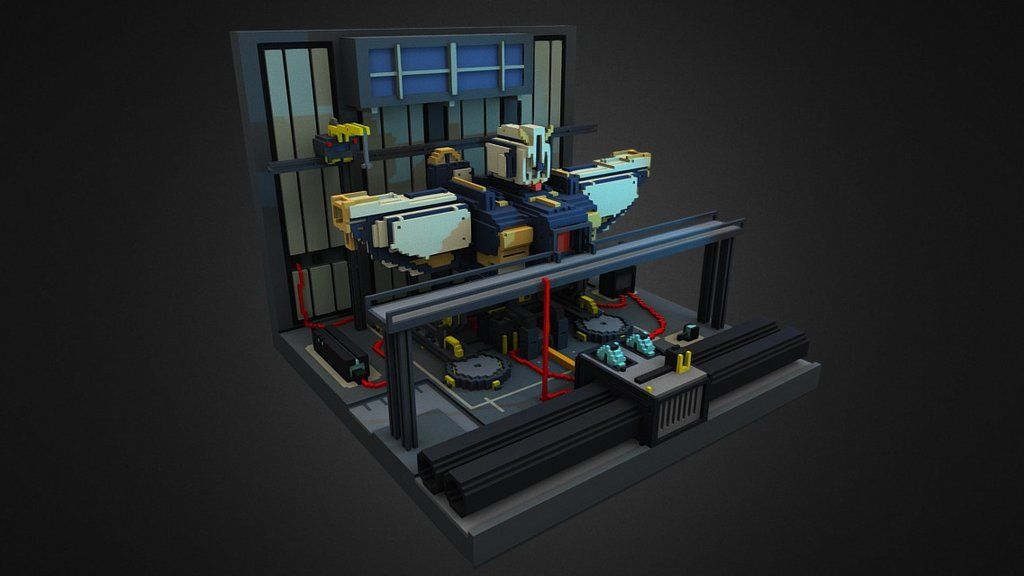 Mech Facility 0.2 by macroiss